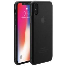 Чехол-накладка Just Mobile TENC для iPhone X. Материал пластик. Цвет: черный матовый.