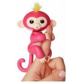 Интерактивная мягкая игрушка обезьянка БЕЛЛА (розовая), 12см 3705A