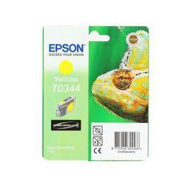 Картридж Epson Original Т034440 (yellow) /для Stylus Photo 2100/