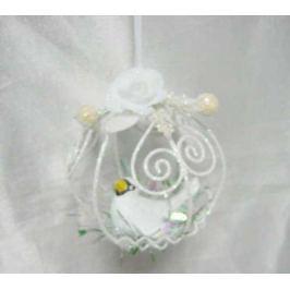 Украшение декоративное ПТИЧКА, 11 см, полирезин, 1 шт.,в пакете