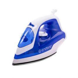 Утюг Endever SkySteam 712, синий Мощность 1600 Вт, Подача пара 30 г/мин, подошва Smart Glissade (сталь)