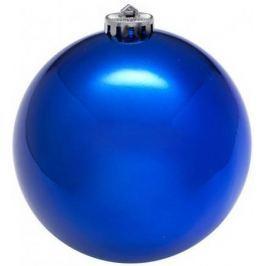 Шар блестящий, 1 шт, 8 см, синий