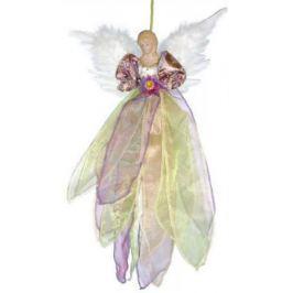 Украшение декоративное АНГЕЛ, 1 шт, 50 см, в пакете, полиэстерб фиолетовое