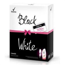 ПН 17-18 REXONA Черное и Белое дезодорант 150мл гель для душа 250мл