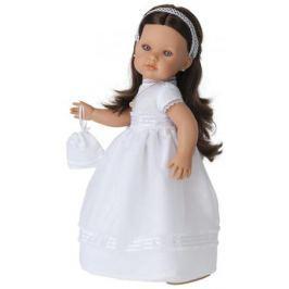 Кукла Munecas Antonio Juan Белла Первое причастие, брюнетка в кремовом 33 см 2800BR