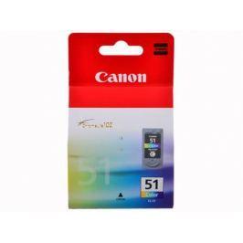 Картридж Canon CL-51 для PIXMA MP450/MP170/MP150/iP6220D/iP6210D/iP2200. Цветной. 545 страниц.