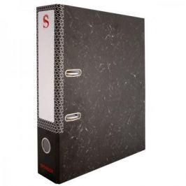 Папка-регистратор 50 мм, черный мрамор, с метал.уголком SPR 5/30 L