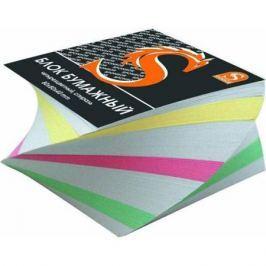 Блок бумажный, четырехцветный, спираль, разм. 8х8х4 см, офсет 65 гр SPC884cS