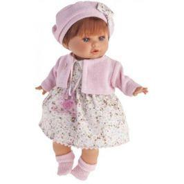 Кукла Munecas Antonio Juan Кристиана в розовом 30 см плачущая 1338P