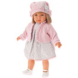 Кукла Munecas Antonio Juan Аделина в розовом, 55 см