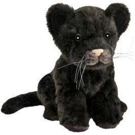 Мягкая игрушка Hansa Детеныш ягуара черный, 17 см 7289
