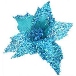 Украшение Winter Wings Цветок 22 см 1 шт бирюзовый полиэстер