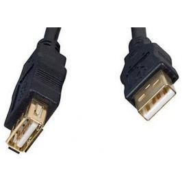 Кабель удлинитель USB 2.0 AM/AF 3.0м Gembird PRO CCP-USB2-AMAF-10 черный, пакет