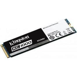 Твердотельный накопитель SSD M.2 960 Gb Kingston KC1000 Read 2700Mb/s Write 1600Mb/s PCI-E SKC1000/9
