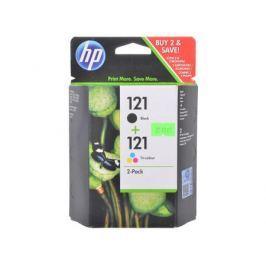 Комплект картриджей HP CN637HE (№121) (CC640HE + CC643HE) черный+ цветной F4200