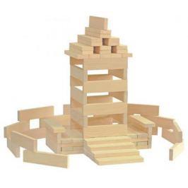 Конструктор Краснокамская игрушка К-04 Брусочки строительные 122 элемента