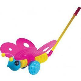 Каталка на палочке Плэйдорадо Бабочка пластик от 1 года с ручкой разноцветный 12001