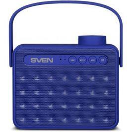 АС SVEN PS-72, синий, акустическая система 2.0, мощность 2x3 Вт (RMS), Bluetooth, FM, USB, microSD,