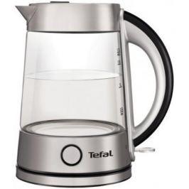 Чайник Tefal KI760D30 серебристый 2400Вт 1.7л. стекло