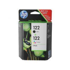 Комплект картриджей HP CR340HE (№122) (CH561HE + CH562HE) черный+ цветной Deskjet 2050
