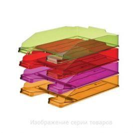 Лоток для бумаг ЭКСПЕРТ, горизонтальный, тонированный