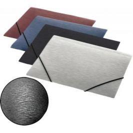 Папка на резинках SIMPLE, ф.А4, синий, материал PP, плотность 600 мкр
