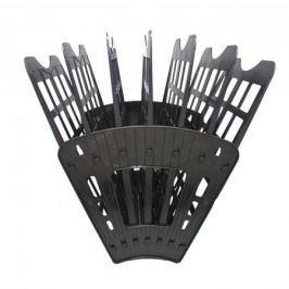 Лоток для бумаг SPONSOR, вертикально-горизонтальный, семисекционный, черный ST905-7