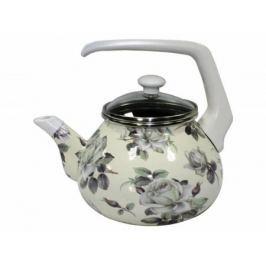 Чайник INTEROS 2362 (НЕ электрический) .2 л металл рисунок
