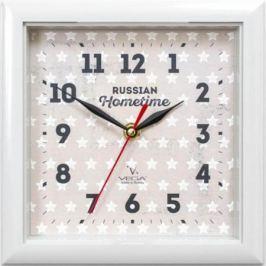 Часы Вега П 3-5-129 белый