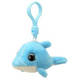 Брелок Wild Planet Дельфин 9 см голубой искусственный мех K8317