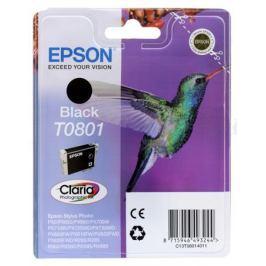Картридж Epson Original T08014011 черный для P50/PX660