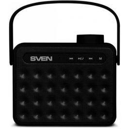 АС SVEN PS-72, черный, акустическая система 2.0, мощность 2x3 Вт (RMS), Bluetooth, FM, USB, microSD,