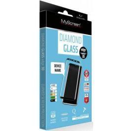 Пленка защитная lamel 3D закаленное защитное стекло MyScreen 3D DIAMOND Glass EA Kit Black iPhone 8P