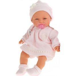 Кукла Munecas Antonio Juan Соня в розовом, плач., 37 см 1443P