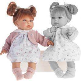 Кукла Munecas Antonio Juan Лорена в белом 37 см со звуком 1558W