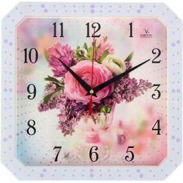 Часы Вега П4-7134/7-75 Роза. Сирень