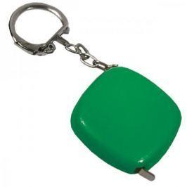 Брелок-рулетка, пластик, зел.