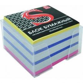 Блок бумажный SPONSOR 90х90х50 мм многоцветный SPC995c/gb