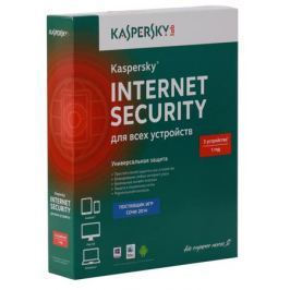 Программное обеспечение Kaspersky Internet Security Multi-Device Russian Edition. 3-Device 1 year Base Box (KL1941RBCFS)