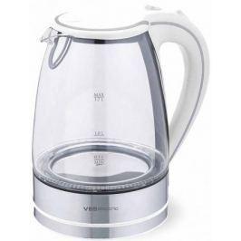 Чайник VES 2005W Белый 2200 Вт, 1.7 л
