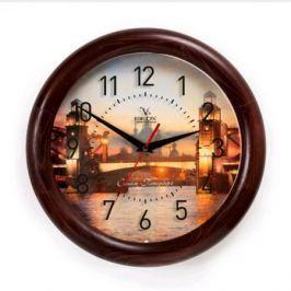 Часы настенные Вега Мост Санкт Петербург Д1МД/7-236