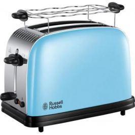 Тостер Russell Hobbs Colours Plus Нeavenly Blue 23335-56 голубой серебристый чёрный
