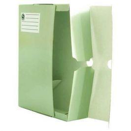 Лоток-коробка архивный, лакированный микрогофрокартон, 470 г/кв.м, 250x150x315 мм, белый