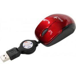 Мышь проводная Genius Micro Traveler V2 красный USB