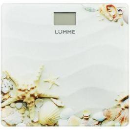 Весы напольные Lumme LU-1328 рисунок Морской пляж