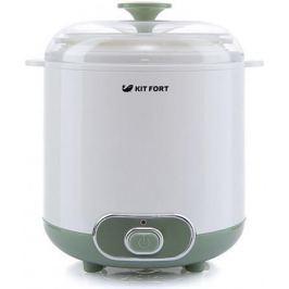 Йогуртница Kitfort KT-2005 белый/зеленый