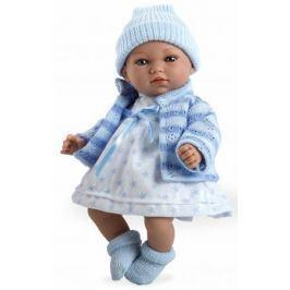 Arias ELEGANCE мягк кукла 28 см., со звук. эфф. Гуление (3хLR44/AG13), в одежде,голуб. цвет., в кор.