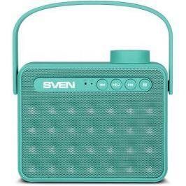 АС SVEN PS-72, mint, акустическая система 2.0, мощность 2x3 Вт (RMS), Bluetooth, FM, USB, microSD, р