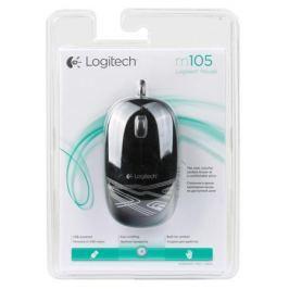 Мышь (910-003116) Logitech Mouse M105 Black