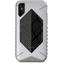 Накладка Moshi Talos для iPhone X серый 99MO086011